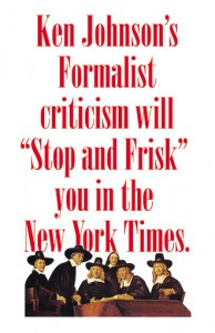 1. Theodore A. Harris, Johnson's Stop and Frisk Criticism