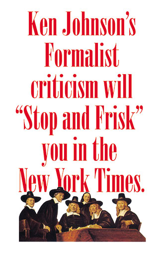 Theodore A. Harris, Johnson's Stop and Frisk Criticism