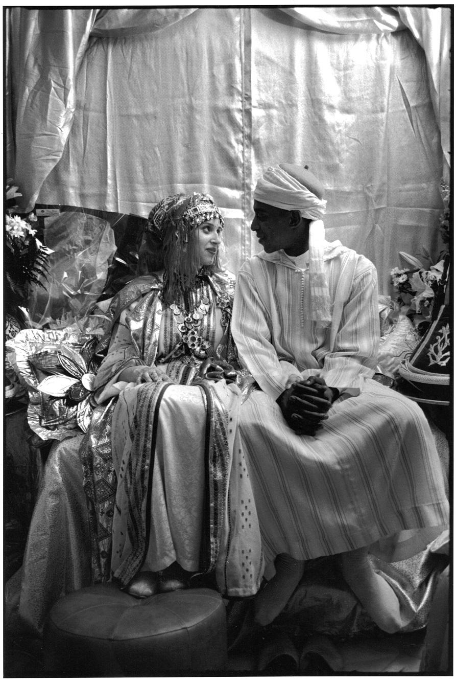 Mariage de Zahira (Américaine d'origine irlandaise) et Saïd (Français d'origine marocaine), Mantes-l