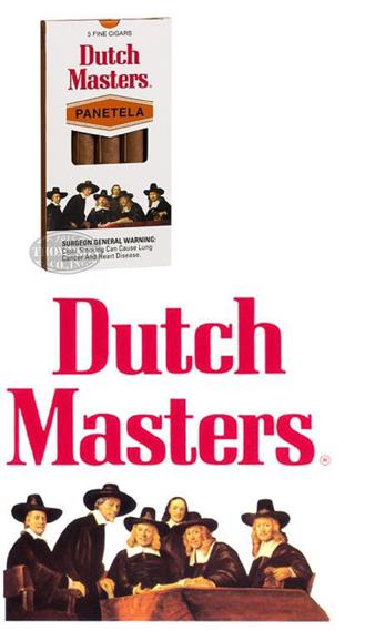 Theodore A. Harris, The Dutch Masters Cigar Box